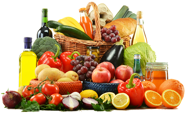 A balance diet is a balance color of the rainbow.