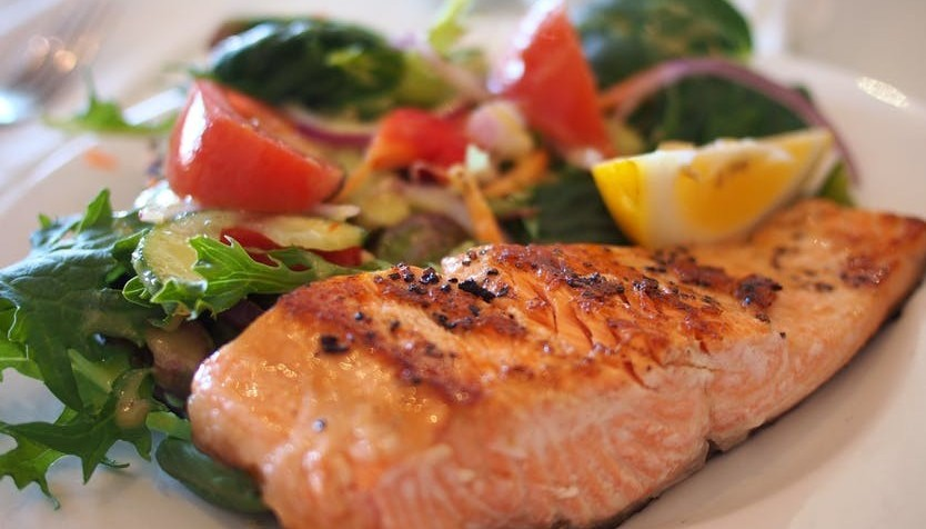 omega-3 fatty acids from salmon