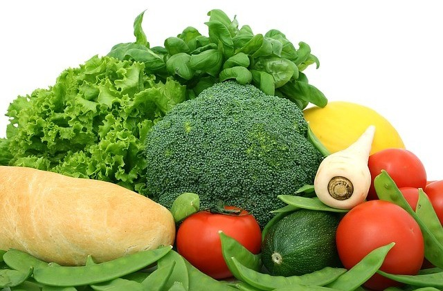 Healthy fiber vegetables